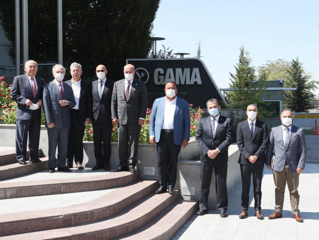 Ankara Chamber of Commerce Visited GAMA