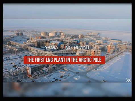 Kuzey Kutbu Bölgesindeki İlk LNG Tesisi